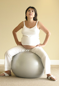 birthing ball for labor
